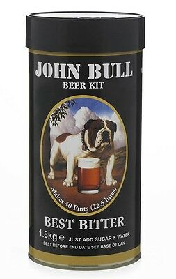John Bull Home Brew Beer Kit. 1.8 Kg. Good Value And Top Quality. Bargain Case 5 • 66.99£