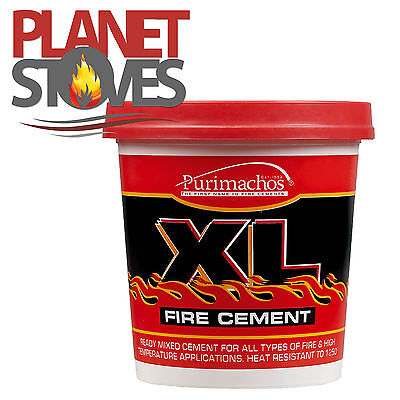 5kg Large Tub Ready Mixed Buff Fire Cement For Brick Fireplace, Furnaces • 16.80£