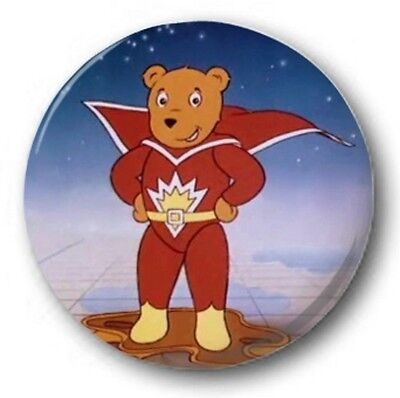 Superted - 25mm 1  Button Badge - Kids Retro TV 80's (Costume) • 0.99£