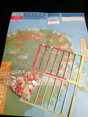 Decision Games Indochina Strategy & Tactics #209 Game Parts Only • 20$