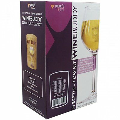 Youngs Wine Buddy 30 Bottle Wine Kit. Choice Of 6 Styles. Multi-pack Discounts • 31.95£