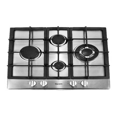 AU399 • Buy 60cm Gas Cooktop 4 Burners Built In For Kitchen