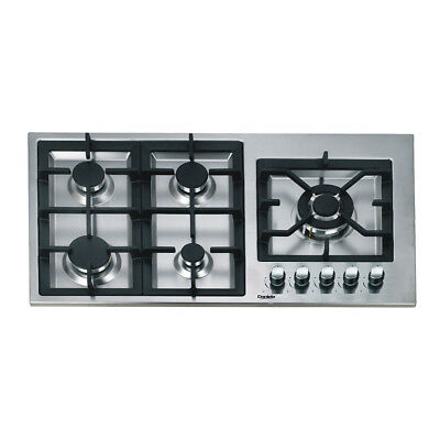 AU729 • Buy 90cm Gas Cooktop 5 Burners Built In Romandy Series For Kitchen