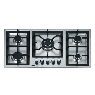 AU749 • Buy 90cm Gas Cooktop 5 Burners Built In Stainless Steel For Kitchen