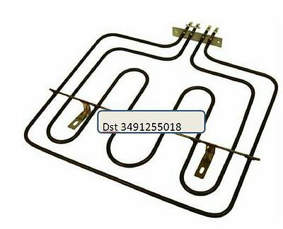 Cooker Oven Grill Element For AEG, Electrolux Tricity Bendix Zanussi 3491255018 • 15.48£