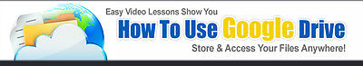 AU9.18 • Buy How To Use Google Drive- Store & Access Your Files Anywhere- Videos On 1 CD