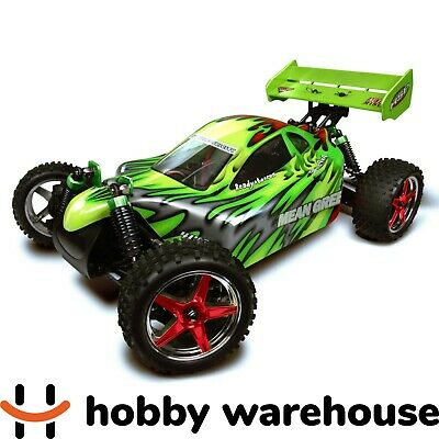 View Details HSP Mean Green 2.4Ghz Electric 4WD Off Road Remote Control Car • 158.00AU