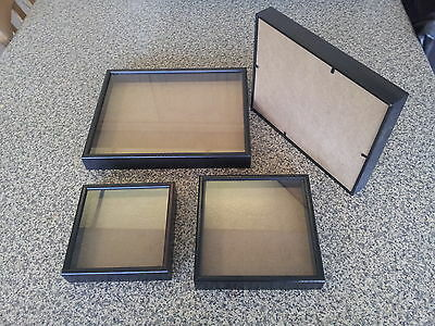 £7.50 • Buy Picture Frame / Box - All Size 1 Inch Deep Frames, Dark Brown Wood -handmade NEW