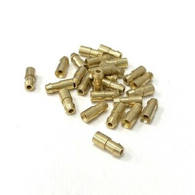 £1.95 • Buy 4.7mm Brass Bullet Connectors - Lucas Classic Car Style - Pack 10