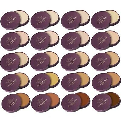 CCUK Constance Carroll Compact Pressed Face Powder Refills Light Medium Dark UVA • 2.99£