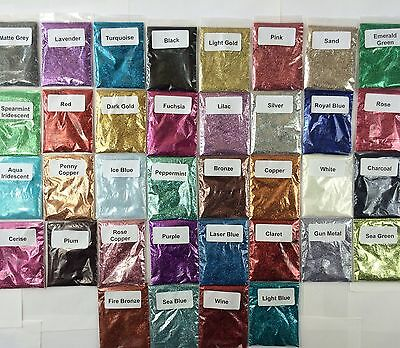 50g Bag Of Fine Glitter For Floristry, Crafts And Nail Art - Rockstar - CIATE • 5.99£