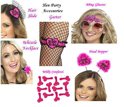 £3.25 • Buy Smiffy's  Bride To Be / Hen Party / Girls Night Out Accessories Choice Designs