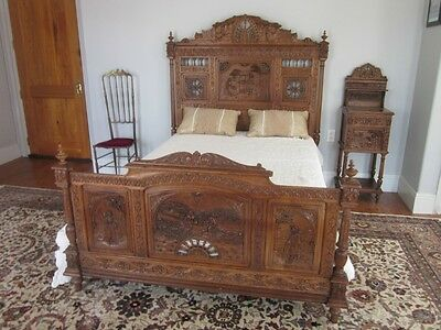Fantastic Antique French Bed Beutiful Home Inspiration Ommitmahrainfo