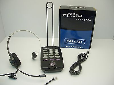 £29.78 • Buy CallTel CT-200 Feature Headset Tone Dialing Telephone For SOHO And Call Centers