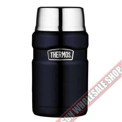 AU41.99 • Buy THERMOS Stainless King 24oz 710ml Vacuum Insulated Food Jar! RRP $54.99!