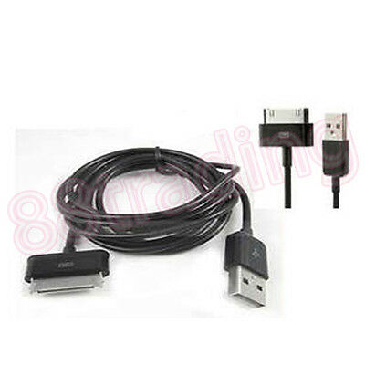£2.39 • Buy 2 X USB Data Transfer Cable For Samsung Galaxy Tab 7.7 P6810 2 10.1 P5110 P5100