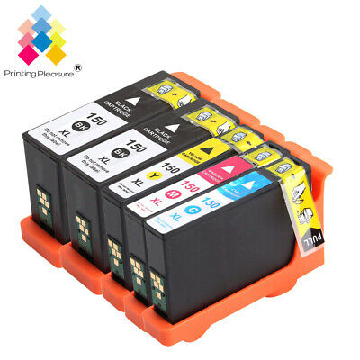 5 Ink Cartridges Replace For Lexmark NO.150XL PRO915 S315 S515 PRO715 • 19.99£