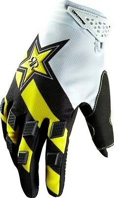 AU27.95 • Buy Fox Racing Dirtpaw Gloves Yellow Rockstar Youth Kids, Genuine Motocross, MX, ATV