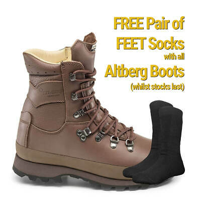 $268.14 • Buy Altberg WARRIOR Microlite MK11 MoD Brown - WIDE FIT -   Military Boots