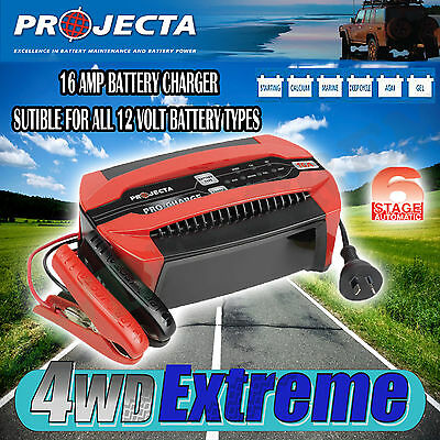 AU210 • Buy Projecta Pc1600 12 Volt 16amp Battery Charger 6 Stage Automatic Gel Agm Sla 12v