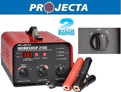AU599 • Buy Projecta Hdbc35 6,12,24 Volt 21a Auto,man Workshop Battery Charger,engine Start