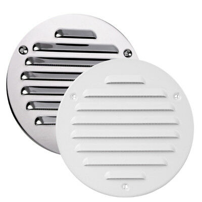 £3.69 • Buy High Quality Metal Round Air Vent Grille With Fly Screen Duct Ventilation Cover