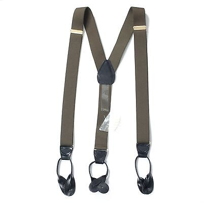 $10.99 • Buy 7000-XL-OSFA - Mens Adjustable Polyelastic Y-Back Suspender With Leather Button