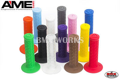 AU22 • Buy AME Tri Grips Available In Various Colour Pairs Suit Vintage & Old School BMX