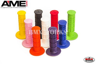 AU13.20 • Buy AME Full Waffle Grips Available In Various Colours Suit Vintage & Old School BMX