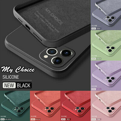AU7.95 • Buy Square Phone Case For IPhone 11 Pro Max SE XS XR 8 7 Liquid Silicone Soft Cover