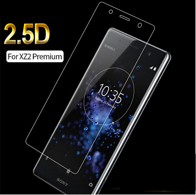 AU7.11 • Buy Full Screen 3D Edge Tempered Glass Protector For Sony Xperia XZ2 Premium