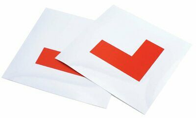 Full Magnetic Learner Driver L Plates - Car Bike Good Quality Secure Pack Of 2 • 2.99£
