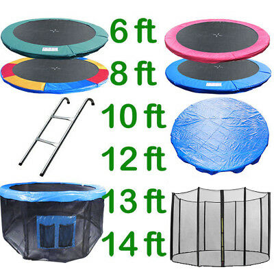 £37.99 • Buy 6 8 10 12 13 14 Ft Trampoline Replacement Pad Safety Net Rain Cover Ladder Skirt