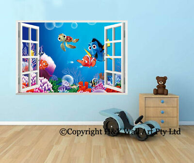 3d Window Wall Stickers Compare Prices On Dealsan