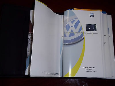 $39.99 • Buy 05 Vw Jetta Owners Manual Owner Book