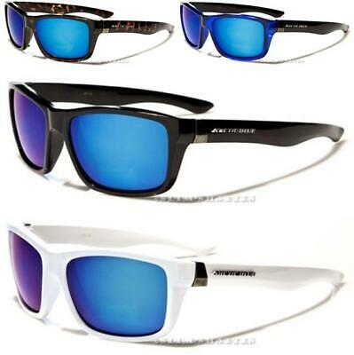 Large Wrap Sports Sunglasses Running Golf Tennis Mirrored Designer Mens Womens • 8.89£