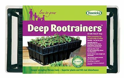 Deep Rootrainers Propagation System, Root Trainers, Propagator, Seed Tray • 12.99£