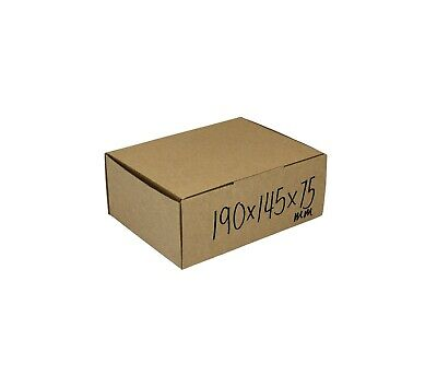 AU37 • Buy 100-190x145x75mm High Quality Shipping Mailing Boxes Melbourne Fits 3kg Satchel