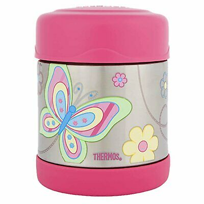 AU25.99 • Buy 100% Genuine! THERMOS Funtainer 290ml Vacuum Insulated Food Jar Butterfly!