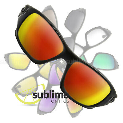 POLARIZED Metallic Fire Red Replacement Lenses For Oakley Ten (X) ~ OO9128 • 14.68£