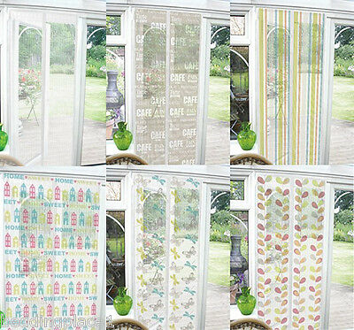 £6.95 • Buy Funky Bug Net Mesh Door Insect Screen Fly Curtain Mosquito Netting