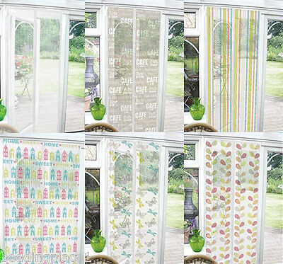 £6.95 • Buy Funky Magnetic Bug Net Mesh Door Insect Screen Fly Curtain Mosquito Netting