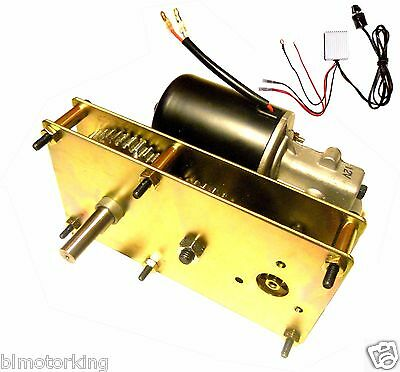 Variable Speed 12V DC 5RPM Conveyor And BBQ Hog Pig Rotisserie Smoker Spit Motor • 205$