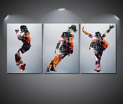 Michael Jackson This Is It Art Poster Set - A4-A3-A2 Sized Sets Of 3 • 7£