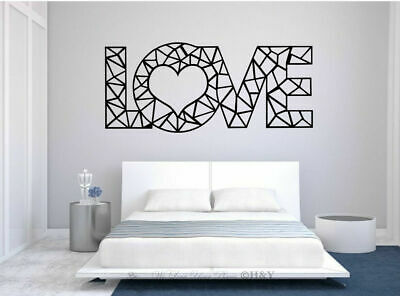 Love Wall Quote Removable Stickers Vinyl Decal Art Mural Home Bedroom Decor • 9.98£