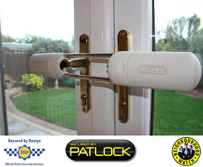 Patlock French Patio Double Doors Security Bolt As Seen On Dragons Den • 49.48£