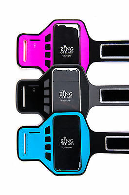 Ultimate IPhone 5, 5s, 5c Supreme Quality Jogging Running Gym Cycling Armband • 4.95£