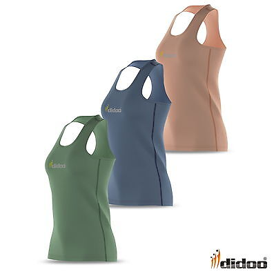Women Running Vest Athletic Fitness Sleeveless Ladies Top Base Layer Gym Singlet • 4.79£