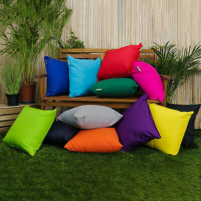 £9.97 • Buy Outdoor Scatter Decorative Cushion Pad Seat Bench Garden Filled Furniture Pillow
