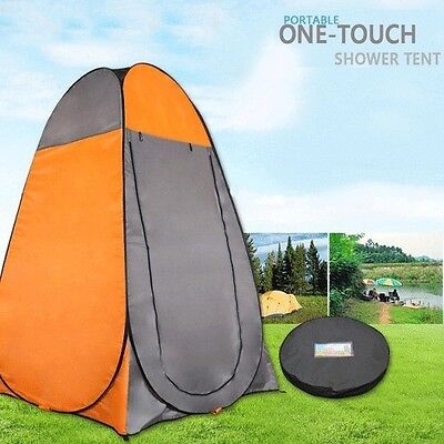 AU33.20 • Buy Pop Up Camping Shower Toilet Tent Outdoor Privacy Portable Change Room Shelter O